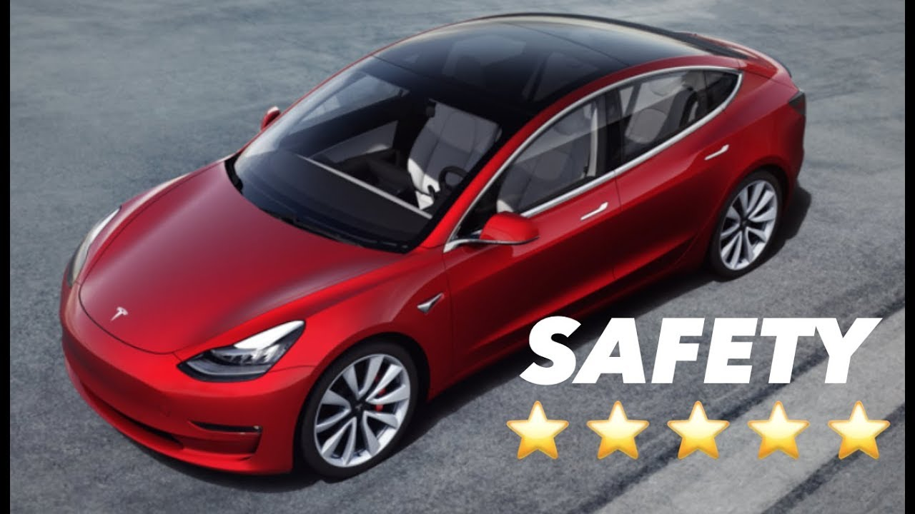 Model 3 = Safest Car Ever Tested By NHTSA ⭐⭐⭐⭐⭐ - YouTube