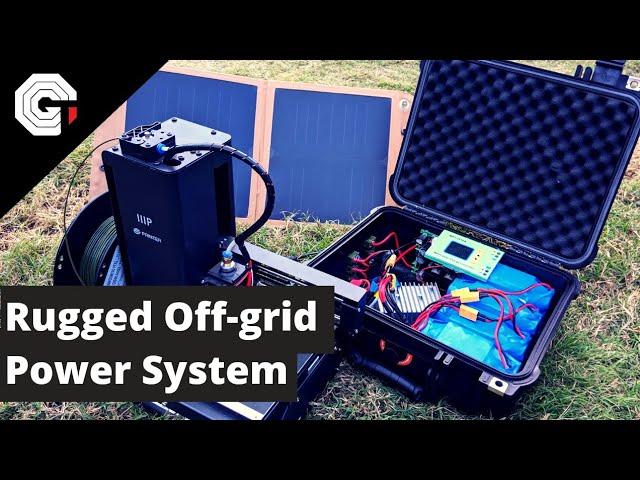 DIY Rugged OffGrid Power Pack w/Glytch