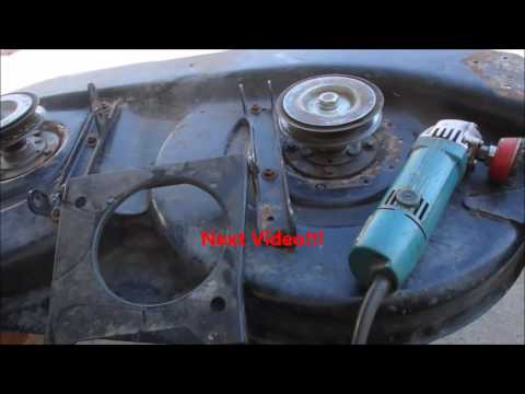 Part 7 MTD Deck Repair and Paint