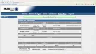 faxfinder web demo for resellers part 2 of 2