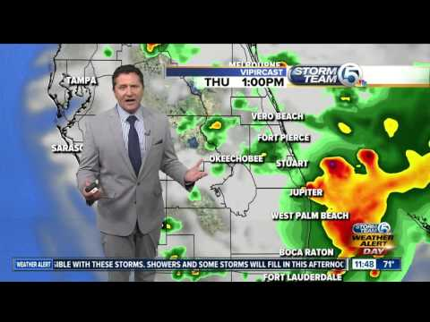 South Florida Thursday afternoon forecast (3/23/17)
