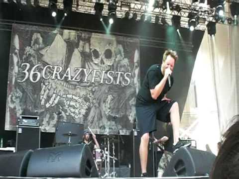 36 Crazyfists - At the end of august (live @ Gods of Metal 2010 - Collegno (TO) )