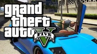 GTA 5 Online Multiplayer Funny Gameplay Moments! #11 (GTA V Beach Sex Glitch and More!)