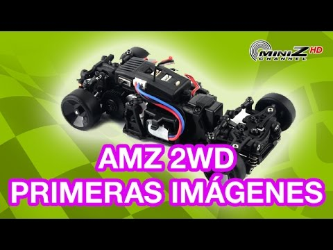 Atomic AMZ 2WD: Primeras Imagenes - MiniZ Channel - 363 (ENGLISH SUBT)