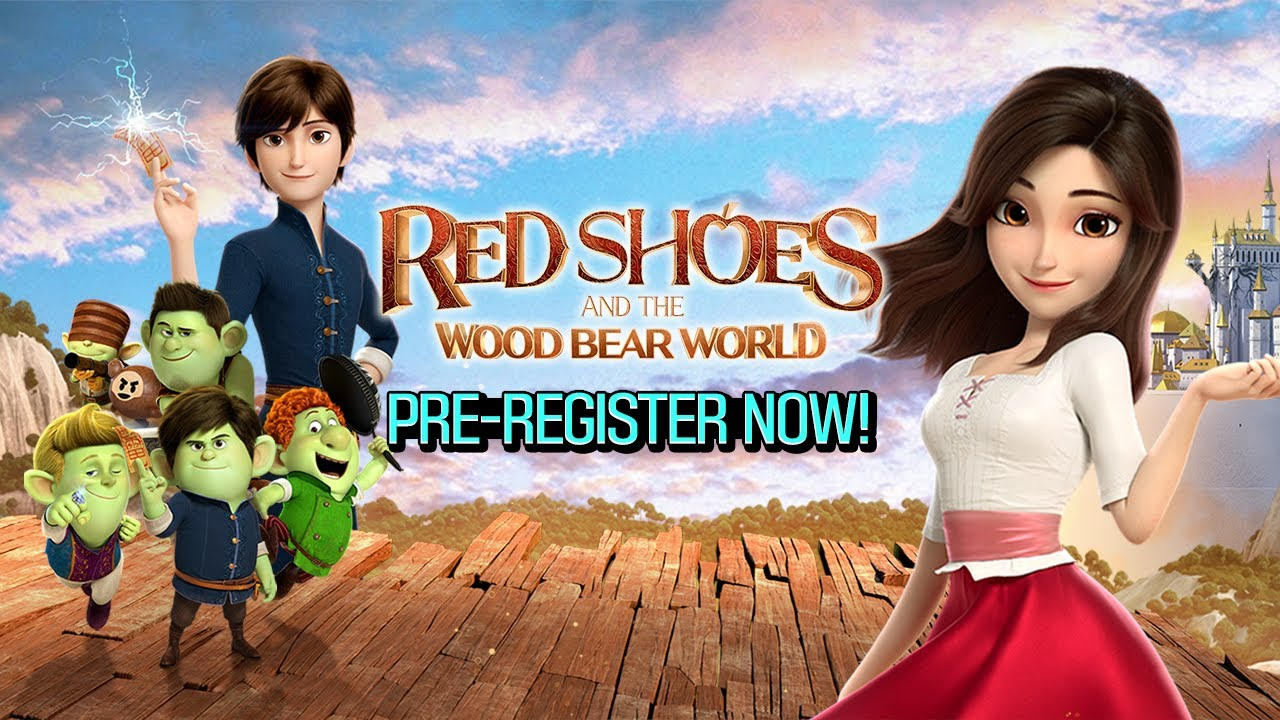 Pre-register Now! [Red Shoes: Wood Bear World - Story Trailer 1]