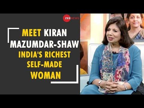 Nayika: Meet Kiran Mazumdar-Shaw, India's richest self-made woman, founder of biopharma firm Biocon