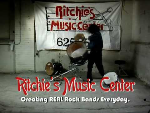 Ritchies Music Center Commercial:: Drums