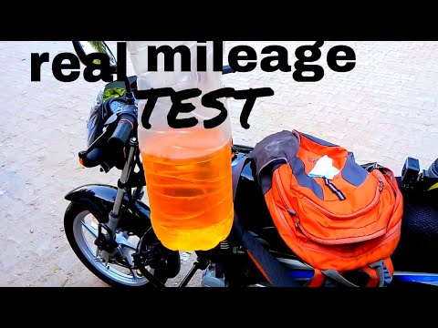 Bajaj CT 100 mileage test BS4 2018