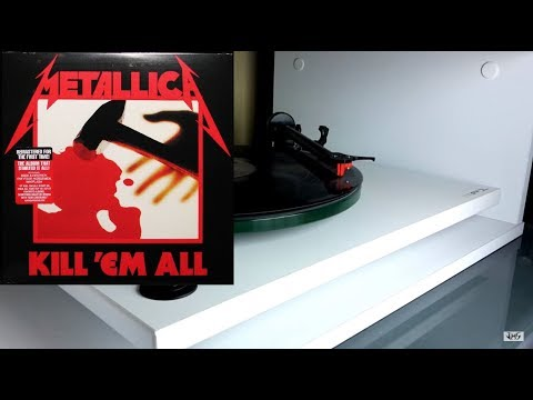 METALLICA Kill 'Em All (Remastered) vinyl rip 1080p
