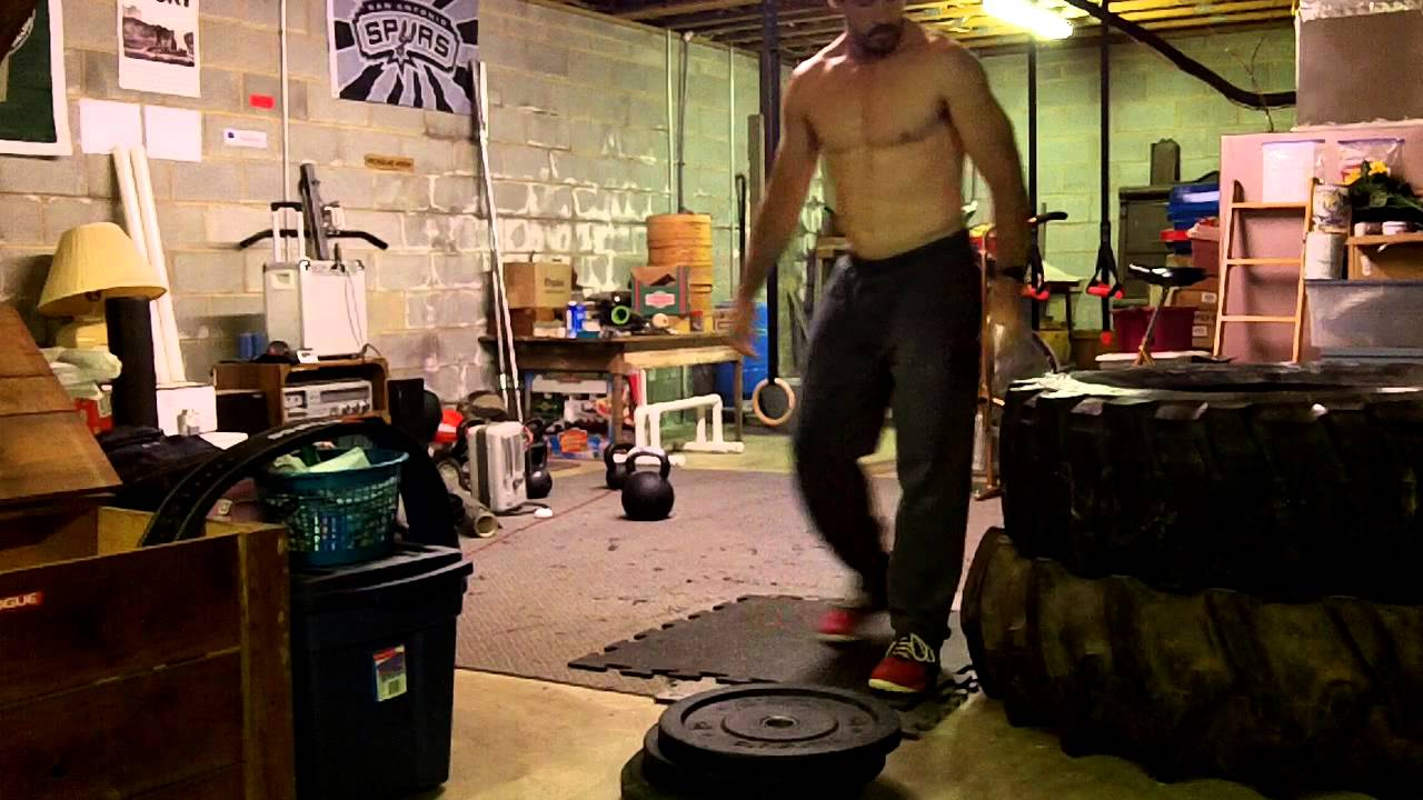 Homemade GHD, KB Swing WOD