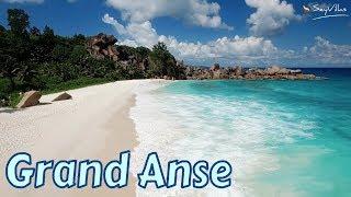"Strand ""Grand Anse"" auf La Digue, Seychellen"