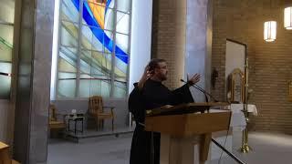 "Fr. Pio Libby, FoH - ""Divine Mercy"" Lenten Mission talk #2"