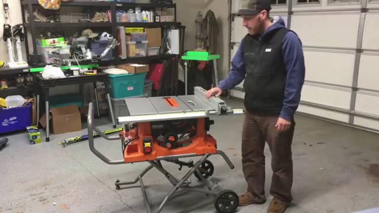 maxresdefault rigid r4513 tablesaw unboxing, assembly and features youtube