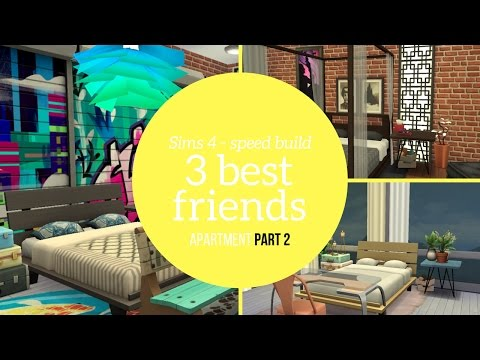 3 Best Friends Apt - Speed Build PART 2