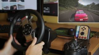 Logitech G27 Onboard Drifting In Usui Touge With A Cresta Assetto Corsa