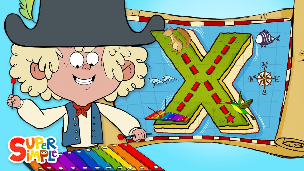 Captain Seasalt and the ABC Pirates have an Exciting Expedition on X Island