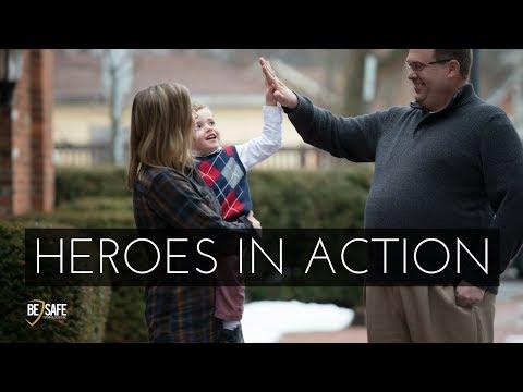 [Heroes in Action] Alert Parents Prevent School Shooting in France