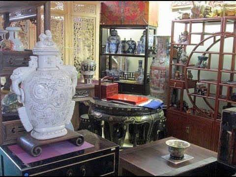 Golden Lotus Antiques store tour 4