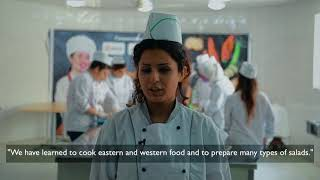 Catering training for Syrian Refugees thumbnail