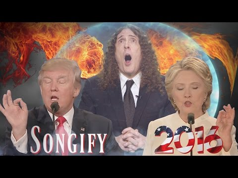 "BAD HOMBRES, NASTY WOMEN (ft. ""Weird Al"" Yankovic)- Songify 2016!"