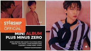 [Preview] 정세운(JEONG SEWOON) - Mini Album [PLUS MINUS ZERO]