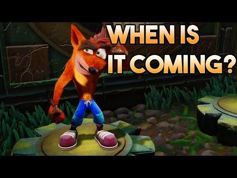 Crash Bandicoot N sane trilogy Release Date? ( False Rumor)