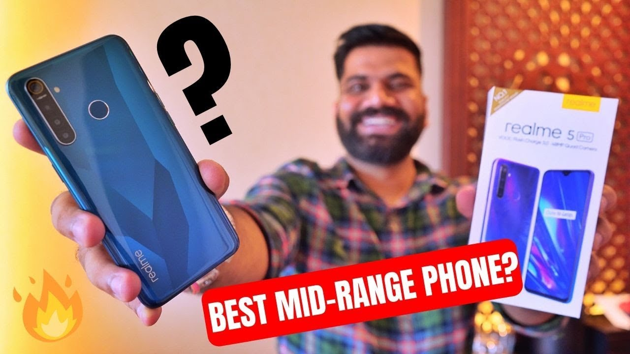 Realme 5 Pro Unboxing & First Look - The Midrange Hero? Giveaway ????????????
