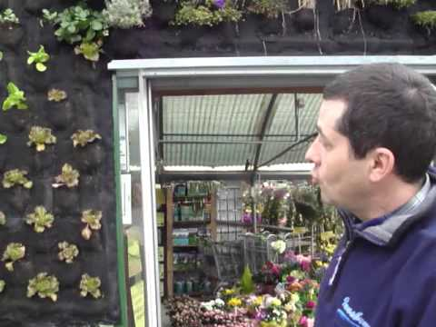 Giardino verticale da esterno   orto verticale   youtube