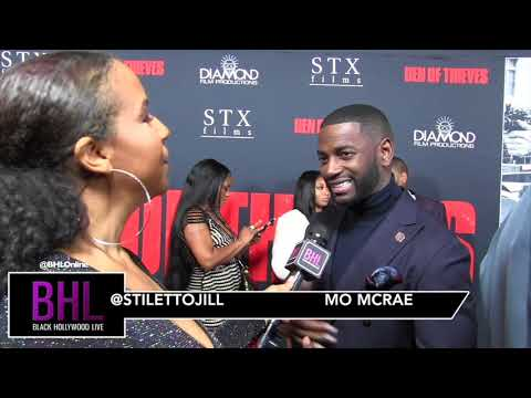 Mo McRae Talks His Role in