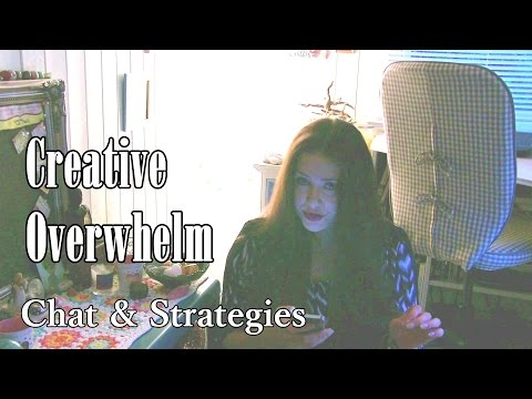 Ways to Deal with Creative Overwhelm & Idea Paralysis