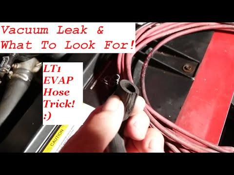 Vacuum Leak - Common Problems - LT1 EVAP Hose Trick
