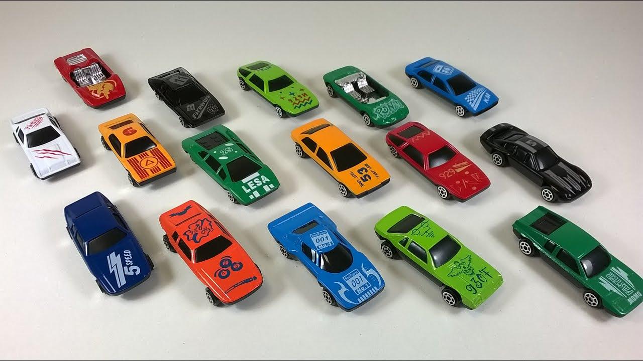 Cars Fun With A Lot Of Cars Toys Lamborghini Ferrari Porsche