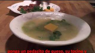 Easiest, Fastest, Delicious Potato Soup/  Sopa De Papas/ Mexican Food