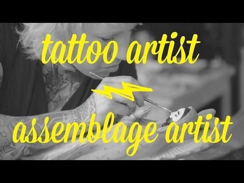 Artist Day Jobs: Jessie McNally - Tattoo Artist/Assemblage Artist