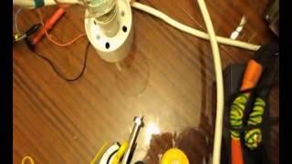 Половина ЗАВОДСКОГО транса с 1.000 ваттной лампой накаливания от аккумулятора UPS(, 2013-07-20T18:59:44.000Z)