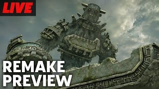 Shadow Of The Colossus Remake Preview Livestream