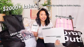 BLACK FRIDAY TRY-ON HAUL 2019! rip my bank account
