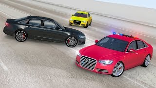 Audi A6 Crash Testing - BeamNG drive