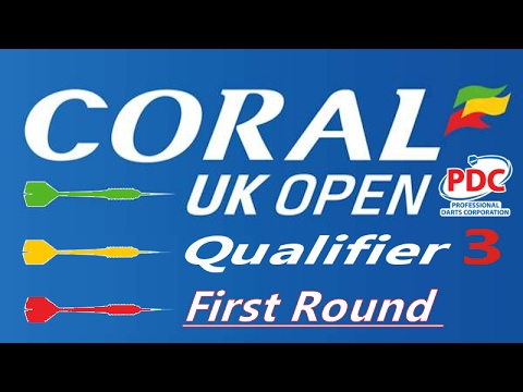2017 Coral UK Open Qualifier Day Three Bradley Brooks v Scott Rollings | First Round