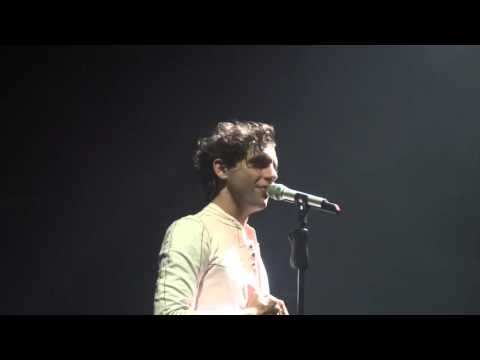 Mika in Zurich - Talk before BG - 26.9.15