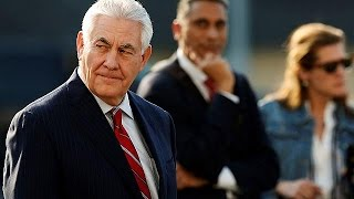 Tillerson arrives in Mexico on