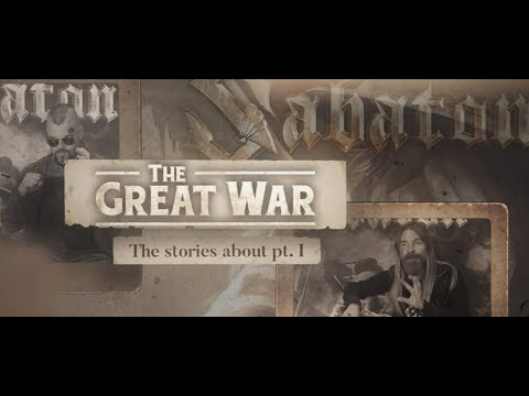 """Sabaton release video 'Stories of WWI"""" + new music teasers from new album The Great War!"""