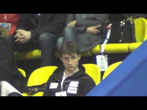 Euros 2013 Joubert at tribune 1