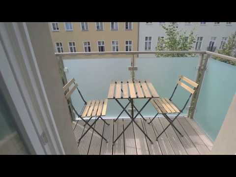 Stylish 3-Room Furnished Apartment in Berlin, Rostockerstr.