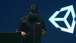 Unity's VR Editor Demo - Unite Europe 2016