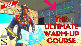 IST DIES DER ULTIMATIVE WARM-UP-KURS?!? | Neue Fortnite Creative Warm Up Kurs w / Code
