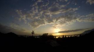 Kashmir Dal Lake - Time Lapse - Sunset - #gopro