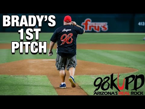 Brady's 1st Pitch Redemption