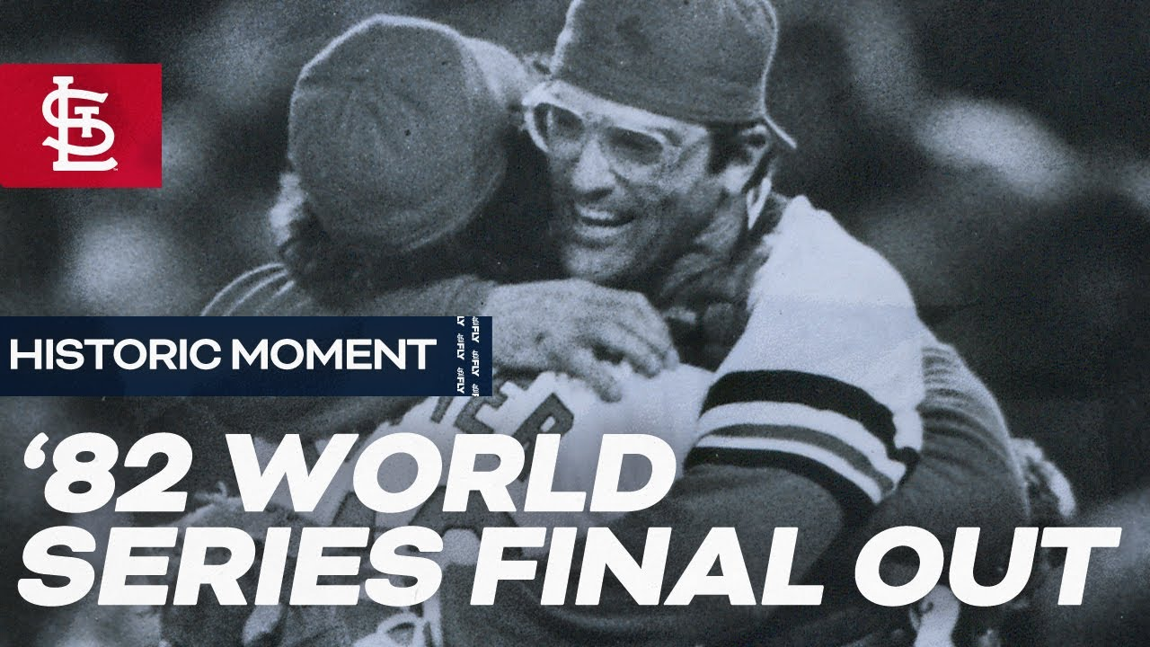 1982 World Series Final Out
