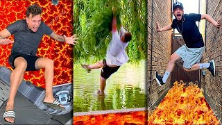 THE BEST EVER 'FLOOR IS LAVA' CHALLENGE ON YOUTUBE!